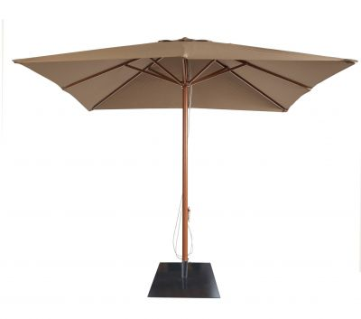 Parasol Hosteleria AM1 3 x 3 + Base Cemento 35 kg.