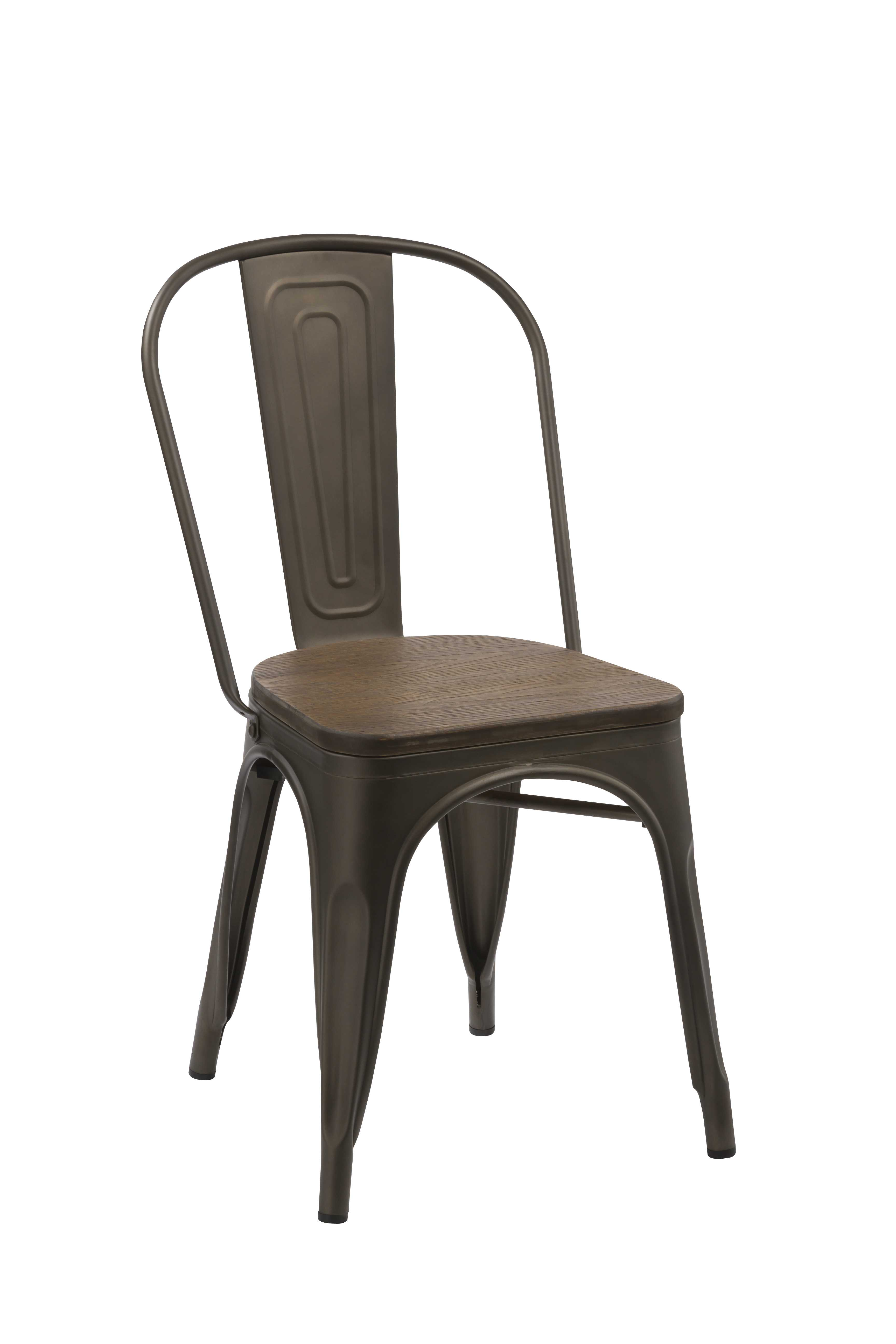Silla Antik Old Bronce